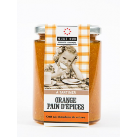 Pâte à tartiner Orange pain d'épices