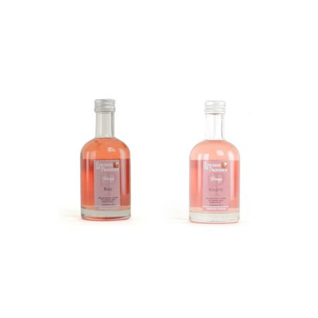 2 SIROPS ARTISANAUX : Rose & Violette