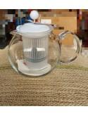 Théière à piston ASSAM couvercle et filtre plastique