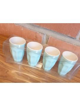 Lot de 4 mugs